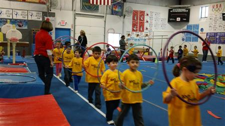 Tom Thumb Preschool mini Olympics