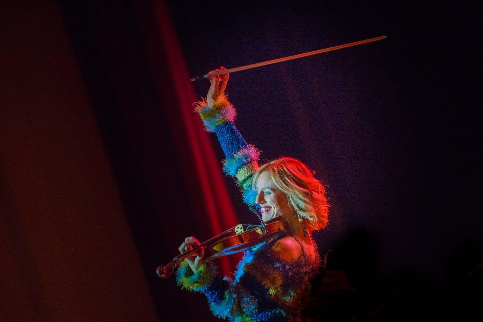Daisy Jopling Performing at the Paramount