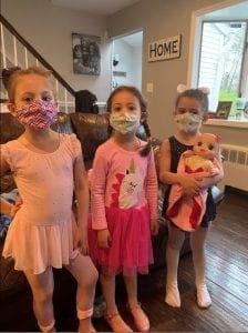 Amanda, Emma and Rylee