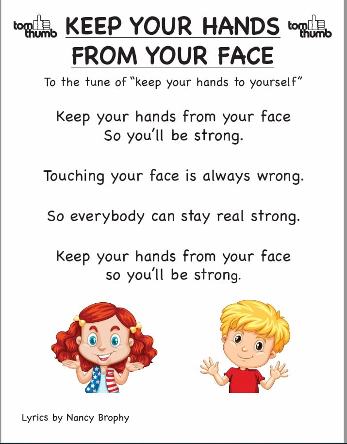 Keep Your Hands from Your Face lyrics