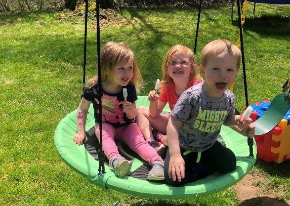 Sammy, Maddie & James